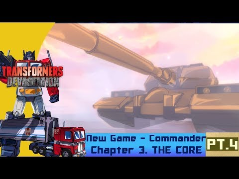 [Transformers Devastation] NG Commander Pt. 4 | C - R A N K