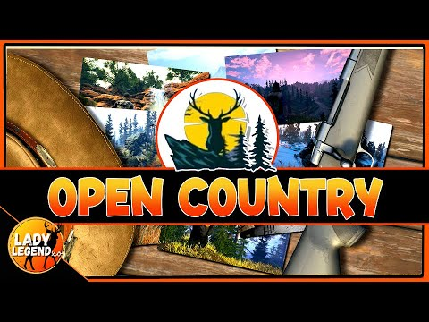 Heading Out to OPEN COUNTRY - Recently Released Survival/Hunting Game! |