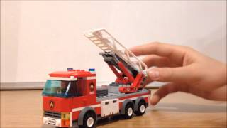 Lego Review: Lego City Fire Station 60004