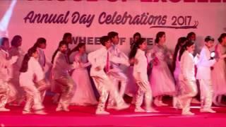 (GRAND FINALE DANCE ) Love You Zindagi & Ale Fusion song choreography || MNR School Annual Day, 2017