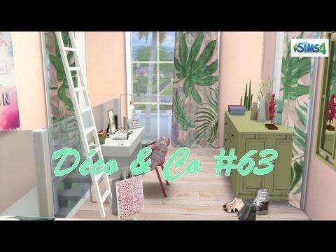 Les sims 4 deco co 63 maison de vacance cc liste