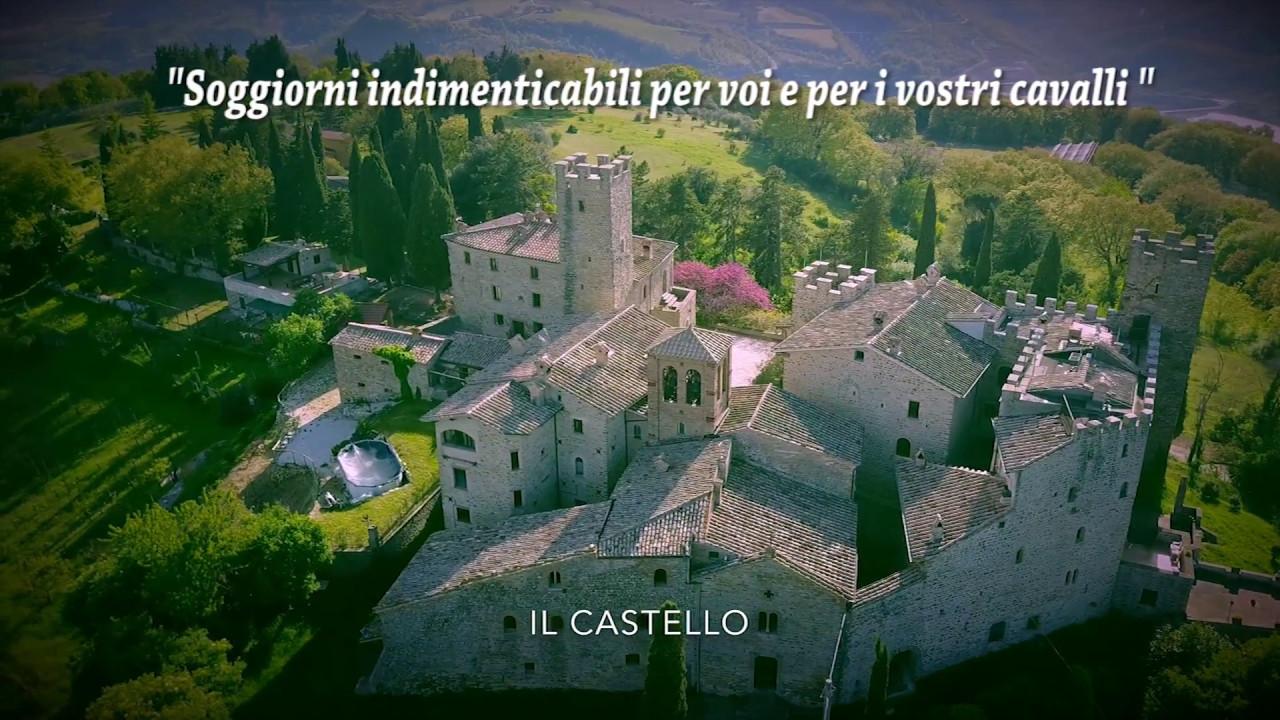 VIDEO Agriturismo Il Castello di Giomici - Giomici Castle Horses