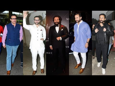Saif Ali Khan's style sense is one for the books; here's proof! Mp3