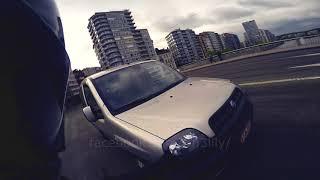 Il me colle tellement, je touche sa voiture avec ma main #DashCam #Gopro #RoadRage #Liège #Belgium