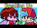 Friday night funkin but gf bf breaks up heartbreak vs girlfriend full week cutscenes fnf mod mp3