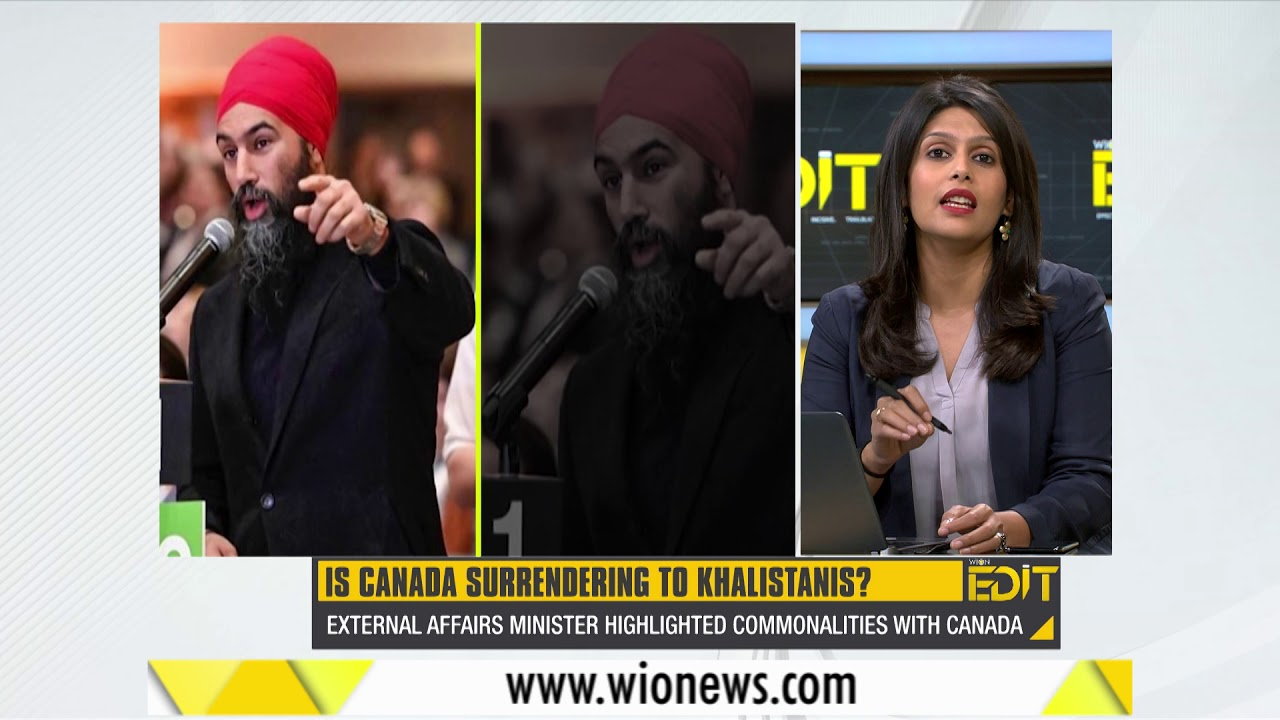 Wion Edit: Is Canada silently surrendering itself to Khalistanis?