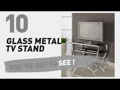 Glass Metal TV Stand // New & Popular 2017