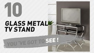Glass Metal TV Stand // New & Popular 2017
