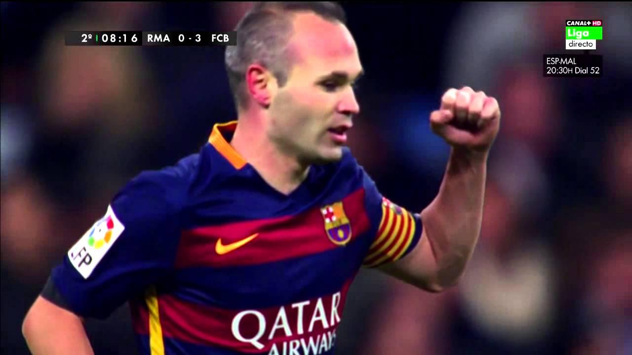 Real Madrid CF vs FC Barcelona [0-4][21/11/2015] EL BARÇA ...