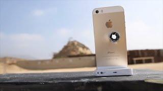 Расстрел iPhone 5S со снайперской винтовки 50-го калибра