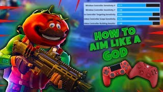 "*NEW* Fortnite BEST ""Shotgun + Building"" Sensitivity + Tips For AIM On Console"