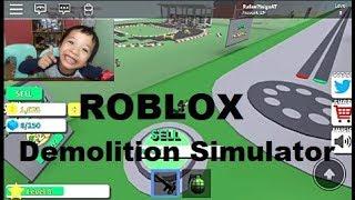 Roblox: jogabilidade simulador de demolição