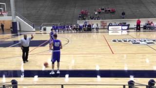 "Curtis Allen #40  6'1"" G - Full Game South San Antonio vs Antonian HS"