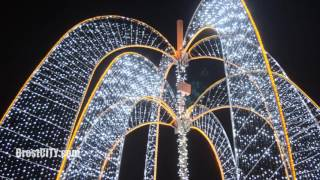BrestCITY: Светящийся фонтан на