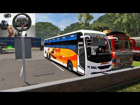 Shivshahi Bus Driving | Euro Truck Simulator 2 With Bus Mod | Indian Volvo Bus
