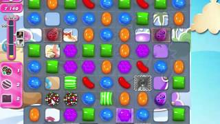 Candy Crush Saga Level 1634 with 6 moves left,  NO BOOSTERS!