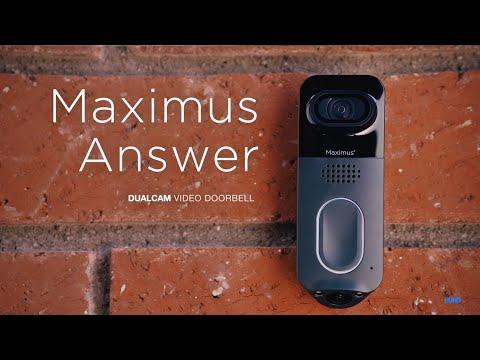 Introducing Maximus Answer™ | DualCam Video Doorbell