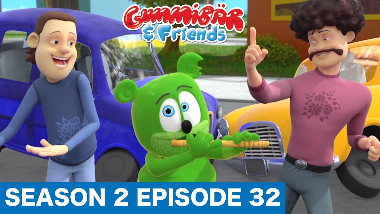 "Gummy Bear Show S2 E32 ""PIED GUMMY"" Gummibär And Friends"