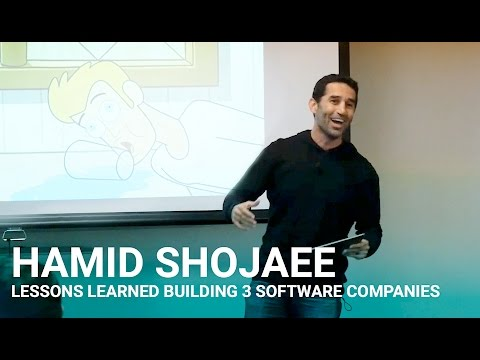 Lessons Learned Building 3 Software Companies - Hamid Shojaee