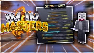I'm in MASTERS DIVISION!!! (Chill Ranked Skywars)