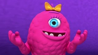 Monster Math Squad | FULL EPISODE | Trouble at the Day Scare Centre | Learning Numbers Series