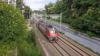 Пассажирский поезд #104 Москва-Адлер (г. Сочи) 09.07.2019