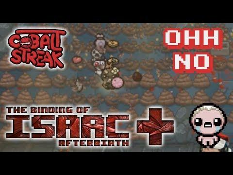Afterbirth+ Eden Streaks! 69-0 - Oh No - Cobalt Streak
