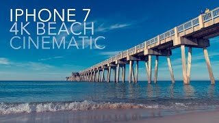 iPhone 7 Plus Cinematic Film 4k | DJI Osmo Mobile | The Beach