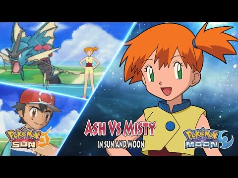 Pokemon Sun and Moon: Ash Vs Misty (Misty Returns)