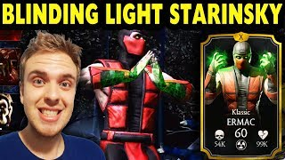 Скачать MKX Mobile 1 19 Klassic Ermac MAXED OUT Gameplay And Review Getting My First Feats Of Strength