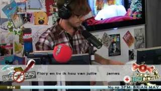 [3FM Serious Request 2009] Emotioneel moment Giel