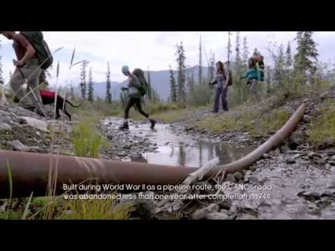 HIKE THE CANOL TRAIL - One of Canada's most exciting hiking trails