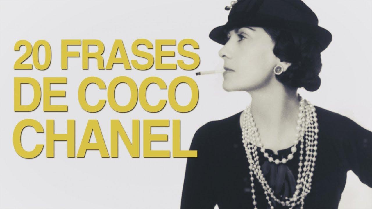 20 Frases De Coco Chanel El Feminismo De La Moda Youtube