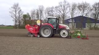 Video poten van aardappels op Harrysfarm te Swifterbant, #flevoland