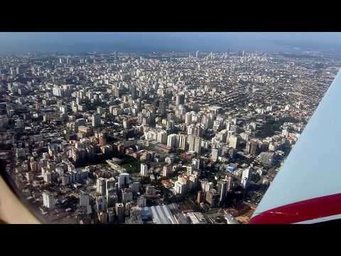 DOWNTOWN SANTO DOMINGO!! Desde el aire