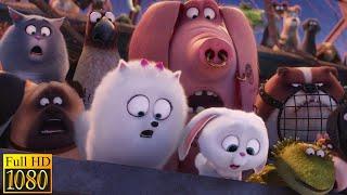 Тайная жизнь домашних животных (2016) - Спасение Дюка (8/10)|Семейные Мультфильмы