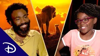 Circle of Life Advice for a Young Girl From Donald Glover and Jon Favreau | Disney+