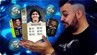 ADDIO A MARADONA 95 ICONA !!! [FIFA 18]