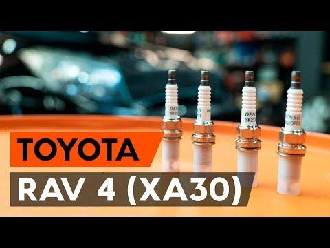Как заменить свечи зажигания на TOYOTA RAV 4 3 (XA30) [ВИДЕОУРОК AUTODOC]