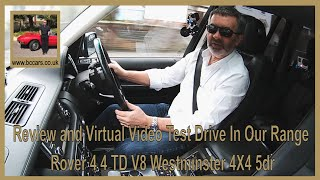 Review and Virtual Video Test Drive In Our Range Rover 4 4 TD V8 Westminster 4X4 5dr
