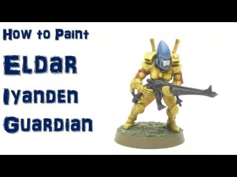 How to Paint Eldar Iyanden Guardian  YouTube