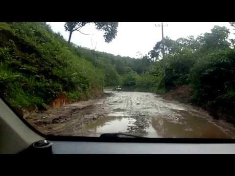 Perbandingan Kondisi Jalan perbatasan di Provinsi Sumatera Utara dan Provinsi Aceh
