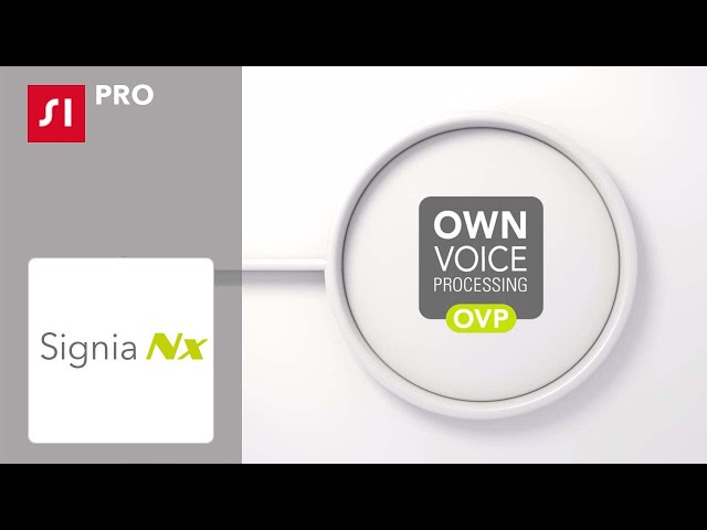 Signia Nx with OVP improves own voice perception - clinically proven