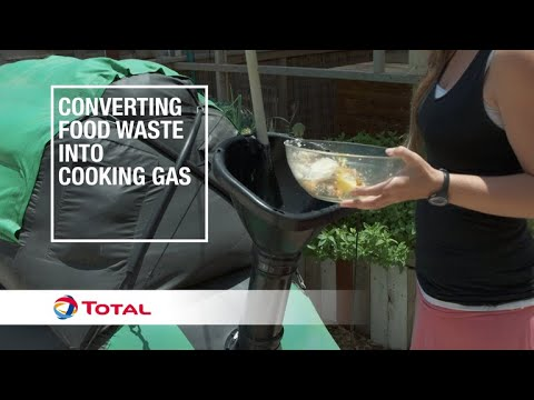 Converting food waste into cooking gas   Sustainable Energy