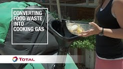 Converting food waste into cooking gas | Sustainable Energy