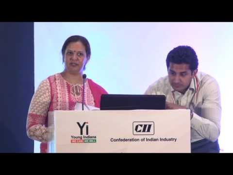 Yi Youth Conclave @ Pune – 2015: Session with Pradnya Godbole, Business Enabler, deAsra Foundation