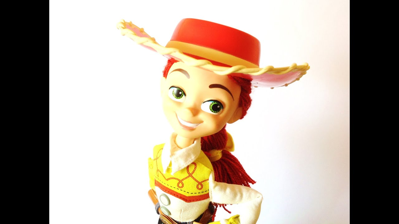 disney store toy story jessie talking figure review