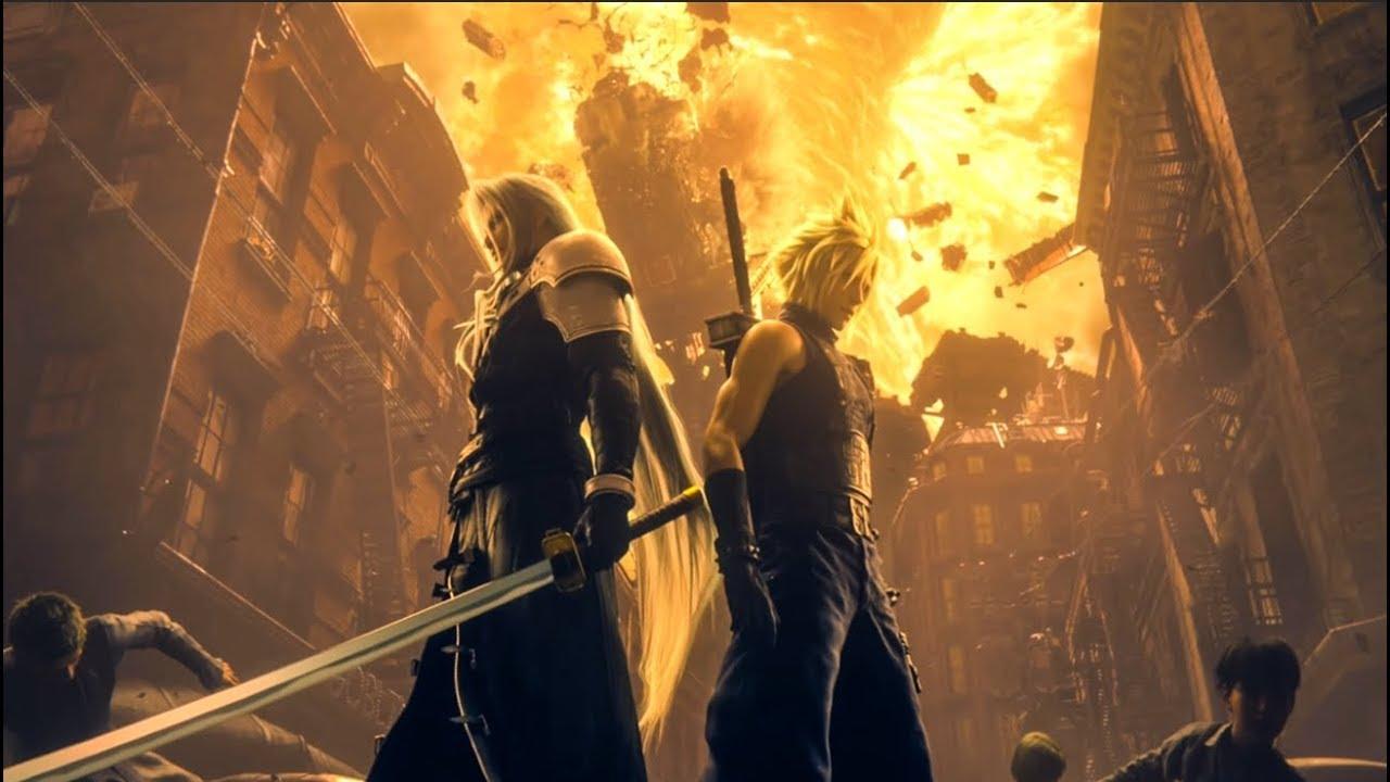Final Fantasy 7 Remake All Sephiroth Encounters Cutscenes