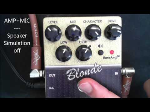 Tech 21 Blonde, Amp vs Direct In