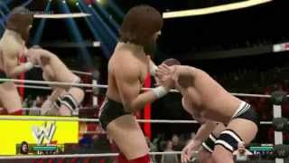 WWE 2K15 GAMEPLAY (PC) DANIEL BRYAN VS CESARO